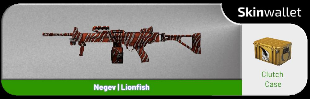 negev lionfish csgo skin